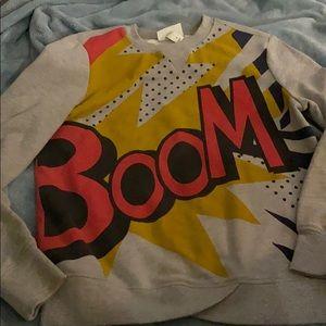 3.1 Phillip Lim for Target BOOM Sweatshirt Small S